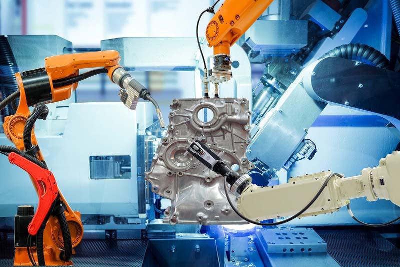 Kvalitetsavsyning industrirobotar